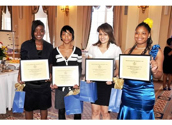 2012 SRLF Scholarship winners