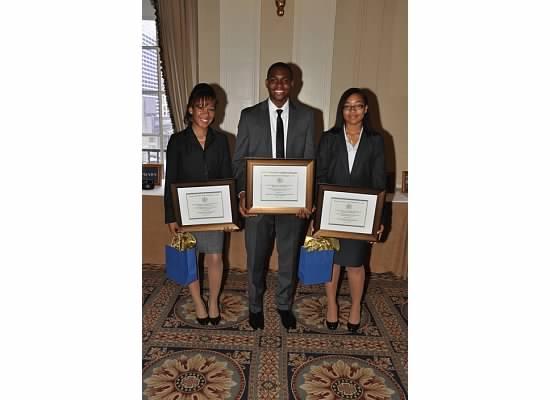 3 scholarship winners